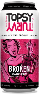 Broken Blender Fruited Sour Ale by Topsy Turvy Brewery