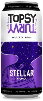 Stellar Nova Hazy IPA by Topsy Turvy Brewery