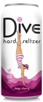 Topsy Turvy Deep Cherry Dive Hard Seltzer