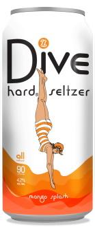 Topsy Turvy Mango Splash Dive Hard Seltzer