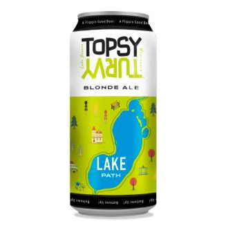 Lake Path Blonde Ale by Topsy Turvy Brewery