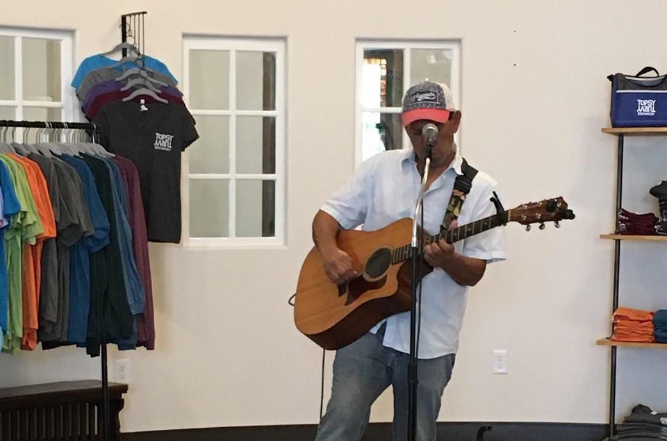 Jeff Trudell Live Music at Topsy Turvy Brewery, Lake Geneva, WI